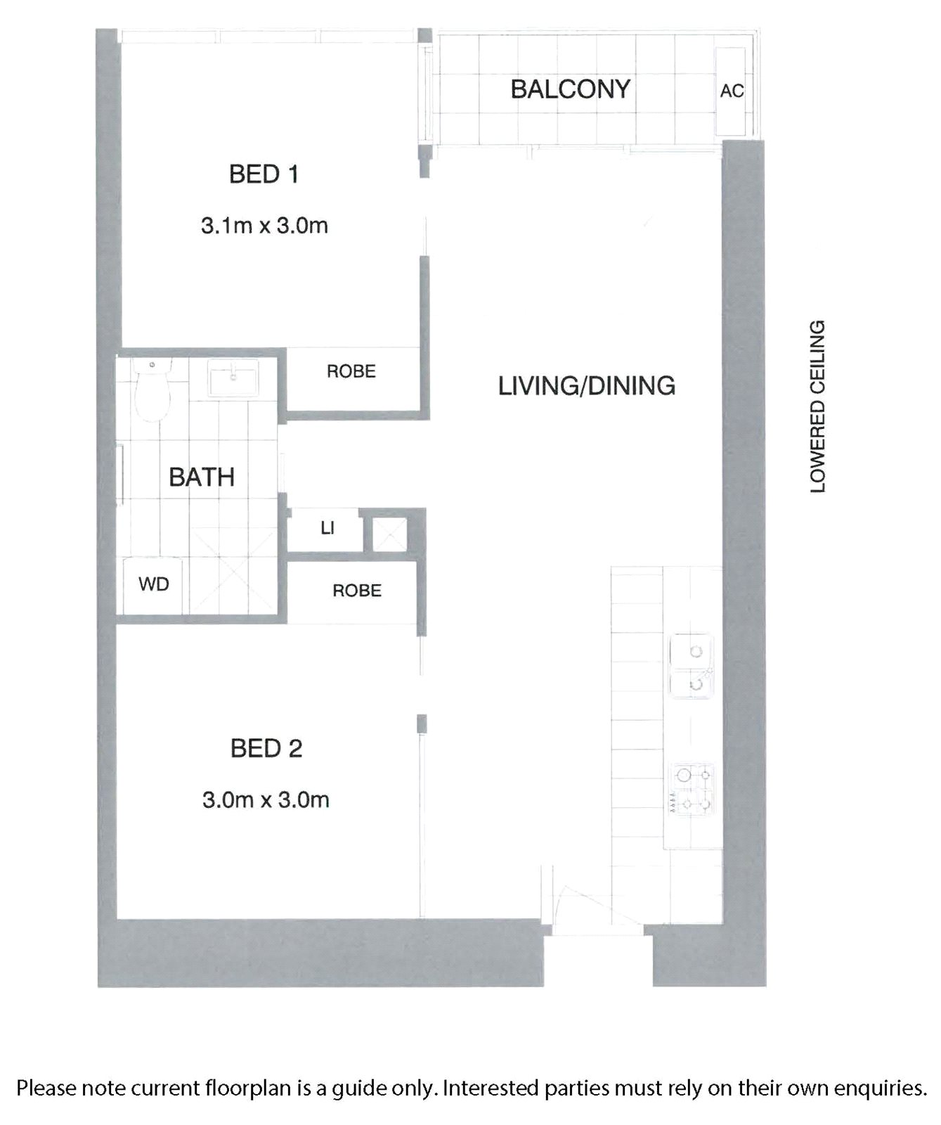 FOR RENT 1013-618 Lonsdale Street Melbourne VIC 3000
